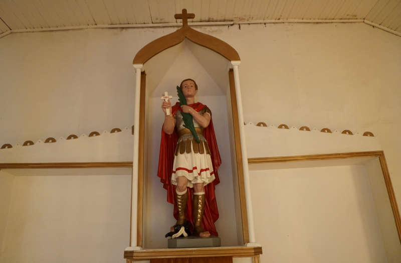 St. Expedite Statue in Independence, Louisiana
