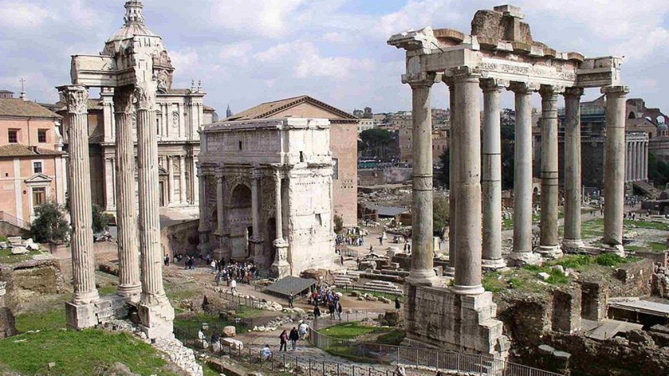 Image result for history of roman concrete gif art images