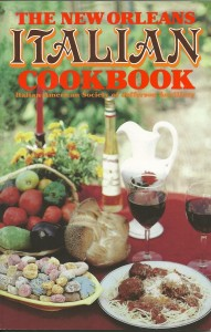 New Orleans Italian Cookbook-Front Cover