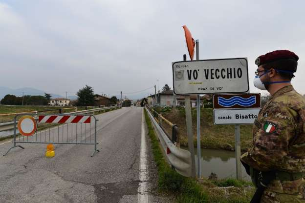 Vò Vecchio in northern Italy